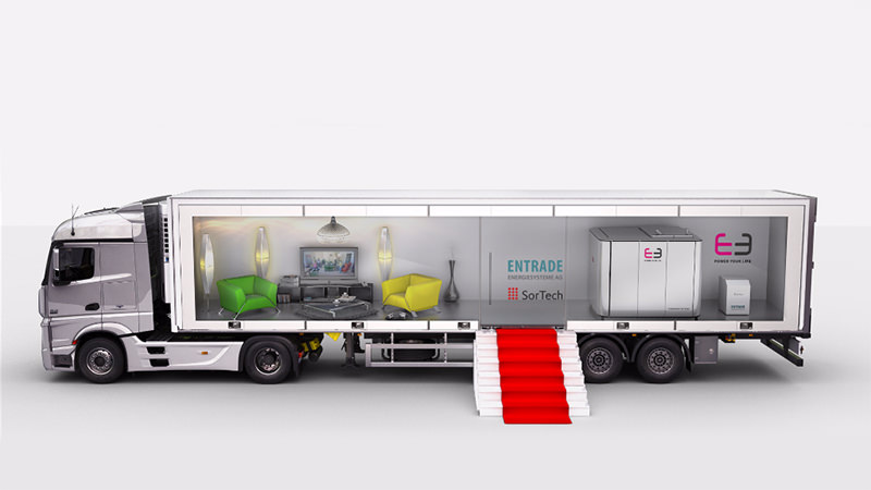 3D Animation Truck