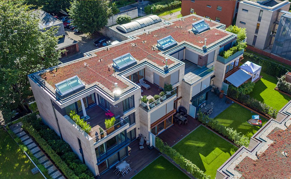 Altus Bau - Hamburg Wohnimmobilie - Luftbild Diagonal