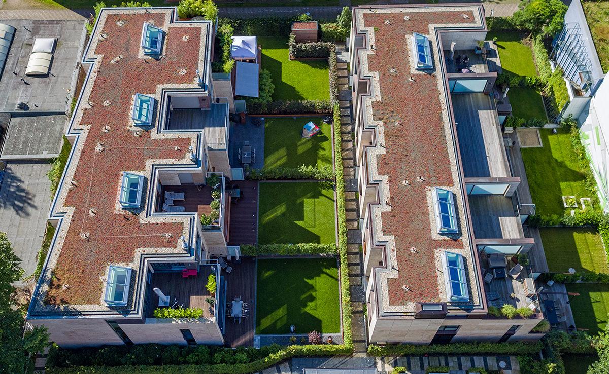 Altus Bau - Hamburg Wohnimmobilie - Luftbild Draufsicht