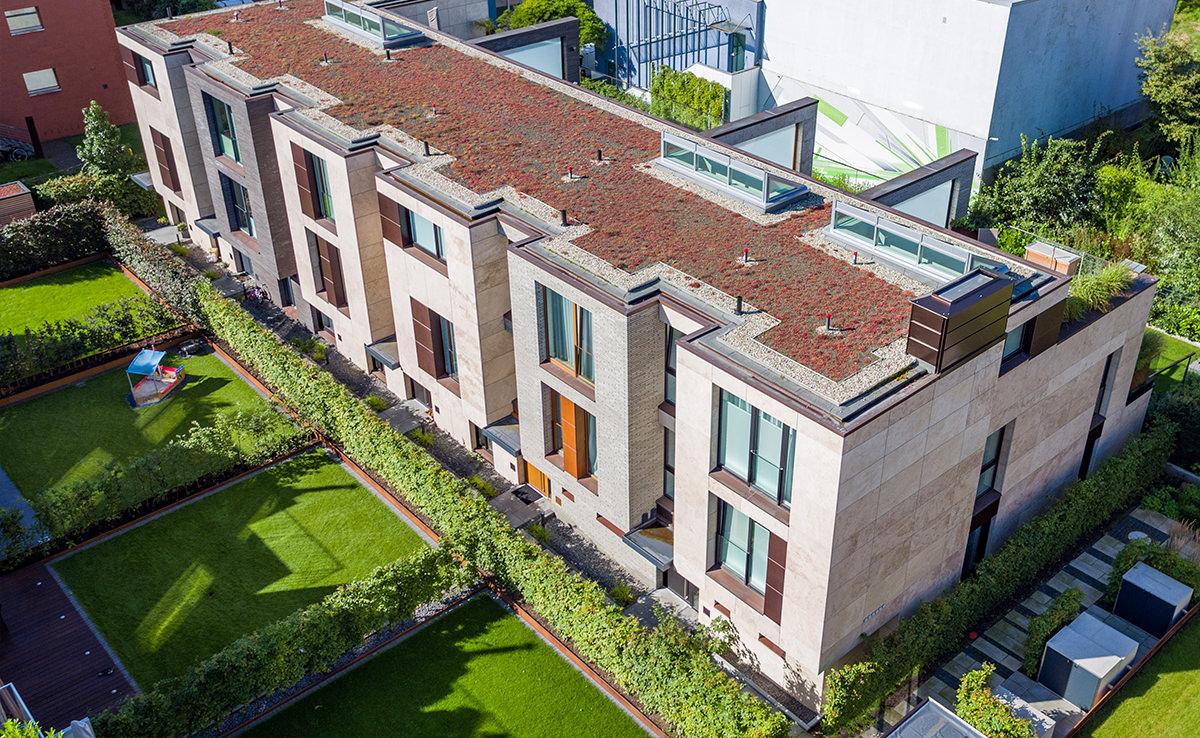 Altus Bau - Hamburg Wohnimmobilie - Luftbild Modern