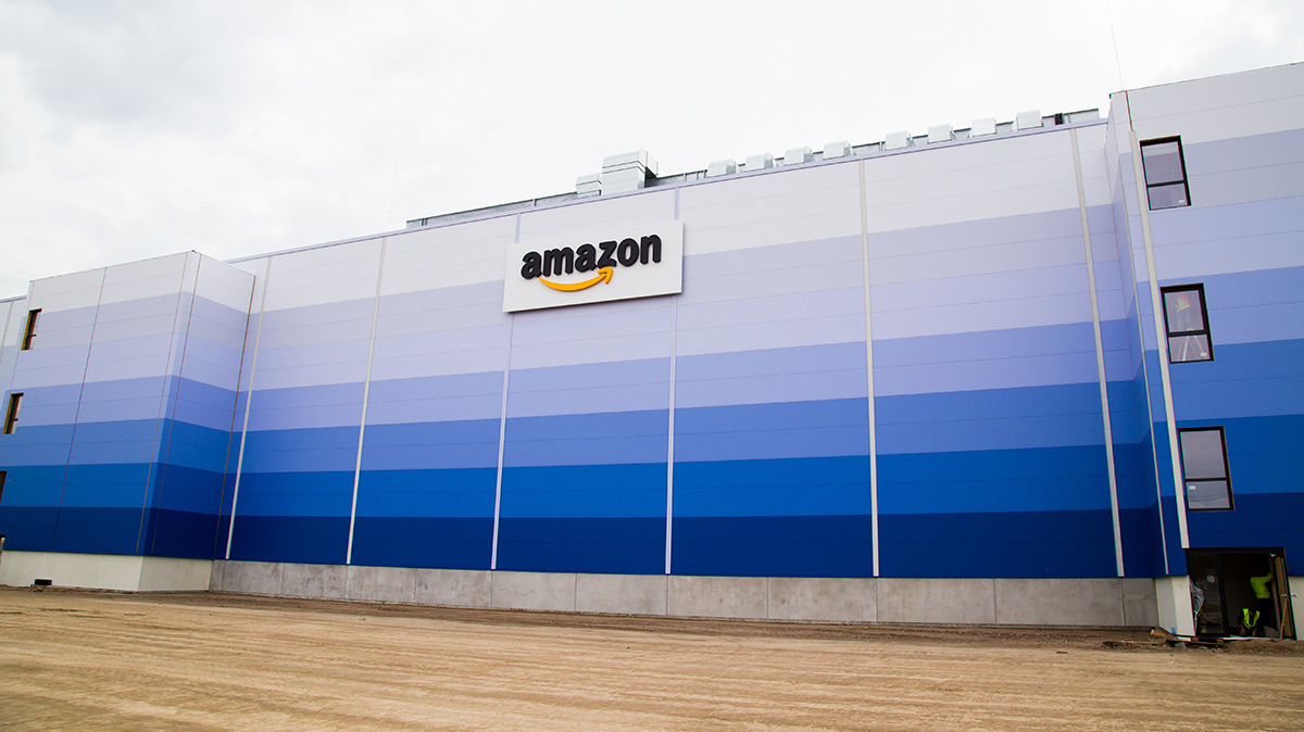 Amazon Logistikzentrum - Fotografie - Baudokumentation
