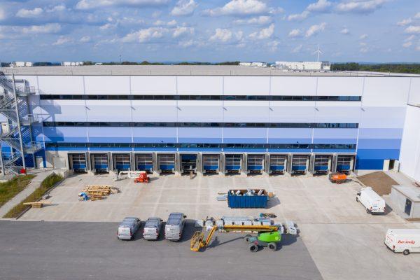 Amazon Logistikzentrum - Fotografie - Baudokumentation