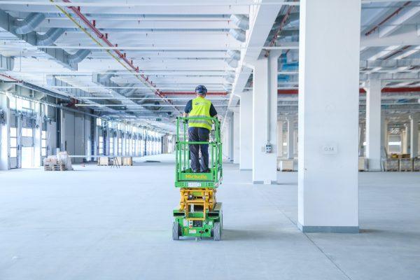 Baudokumentation - Stahlträger einbauen - Bodenaufnahmen