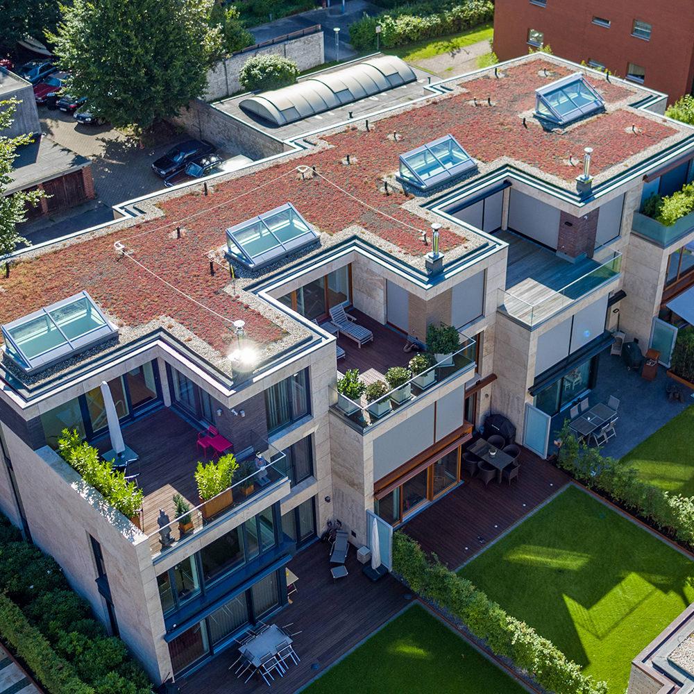 Projekt Altus Bau - Luftaufnahme / Fotografie Immobilie